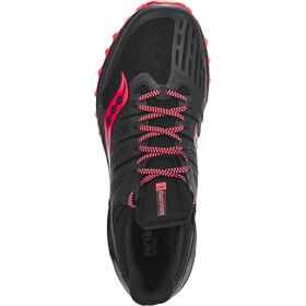 saucony Xodus ISO 3 Hardloopschoenen Heren rood/zwart